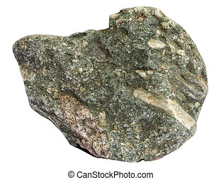 Conglomerate - Single piece of sedimentary oligomict...