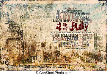 4th of July - Happy Independence Day Background