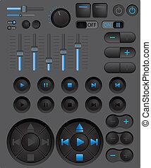 Digital player controls