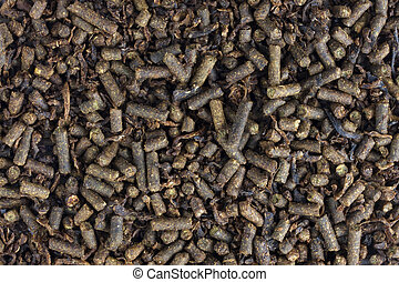horse feed pellets - brown feed pellets for mature horses -...