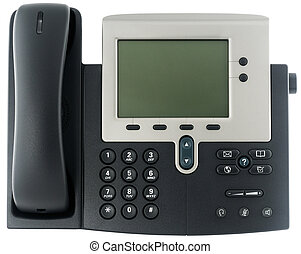Office IP telephone - IP office telephone set with LCD...