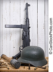 German equipment of World War II - different German...