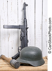 German equipment of World War II - different German...