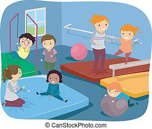 Kiddie Gymnasts