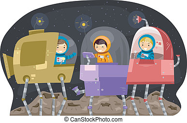 Space Robots Kids