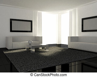 Interior design - Modern Livingroom - Interior design