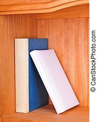 book shelf - books in the book shelf