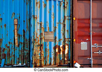 Shipping Container Texture