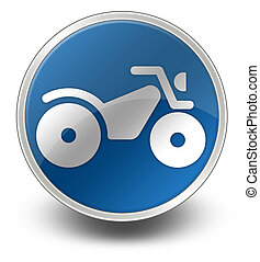 Icon, Button, Pictogram ATV - Icon, Button, Pictogram with...