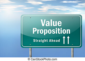 Highway Signpost Value Proposition - Highway Signpost with...
