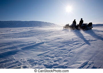 Winter Mountain Travel - Travelling in a very cold winter...