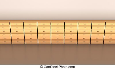 Office furniture, Abstract background, concept of business