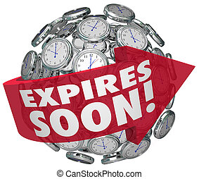 Expires Soon Clock Sphere Limited Time Offer Deadline -...