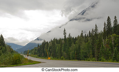Mount Robson Provincial Park - At the entrance to Mount...