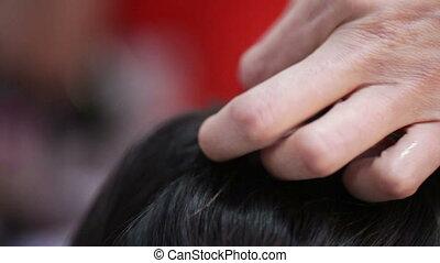 Loops of hair