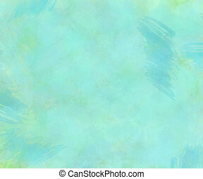Teal Watercolor Texture