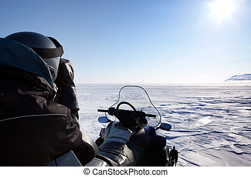 Svalbard Expedition Guide - An expedition guide secures the...