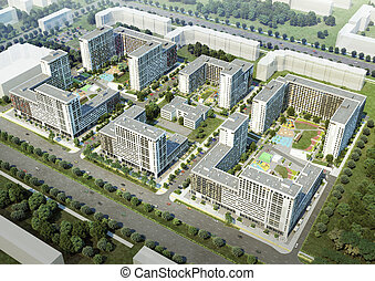 Residential complex - New building Residential complex...