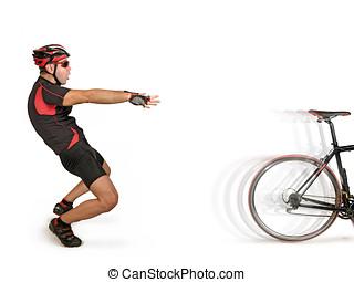 遺棄, 自転車