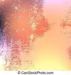Bright Red Grunge