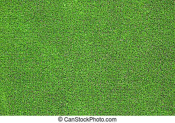 green artificial grass plat - A green artificial grass for...