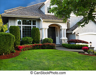 Clean Home and Landscape - Clean exterior and landscape of...