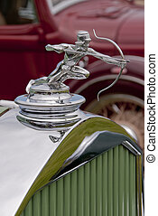Archer hood ornament - hood ornament from american car built...