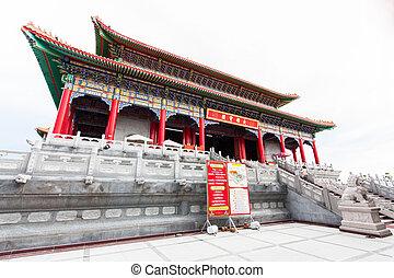 wat, Leng, nei, Yi, 2, chino, templo, Tailandia