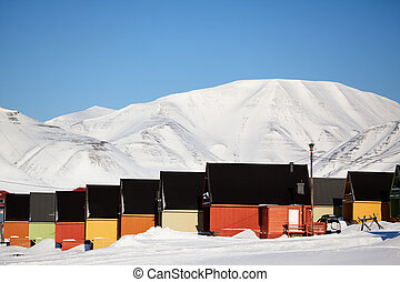 Longyearbyen, Norway, the worlds northern most city