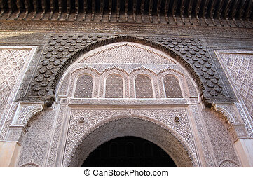Marrakesh Ben Youssef Medersa - The Ben Youssef Medersa, an...
