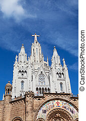 Jesus Christus Statue at Expiatory Church of the Sacred...