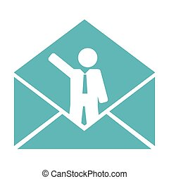 conceptual business mail