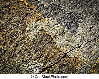 stone jing jang - background or texture stone plate jing...