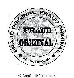 fraud original stamp