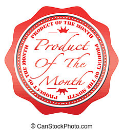product of the month stamp - product of the month grunge...