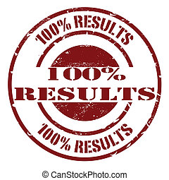 results stamp