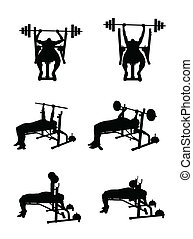 man lift weights