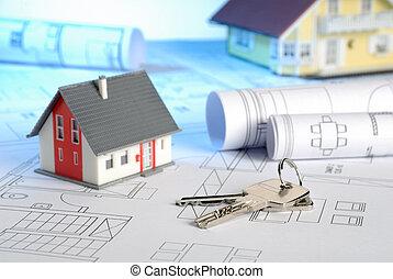 Maisons, modèles, clés