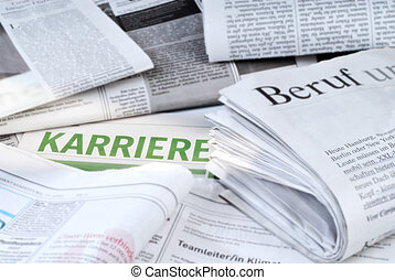 Job offers - Daily newspapers with job vacancies and the...