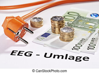 Cost of the energy transition - Plug and Euro money with the...