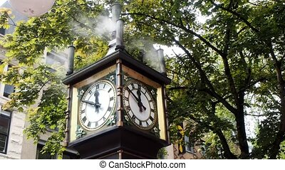 Steam Clock - Gastown's most famous landmark is the...