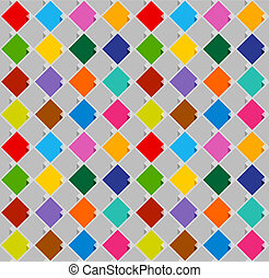 seamless background from blank stickers bright color