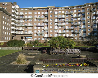 Block of Flats - this picture was taken in Dover, England