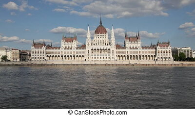 Budapest, Hungary - The Parliament Building in Budapest,...