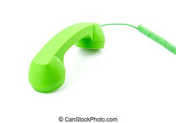 teléfono, aislado