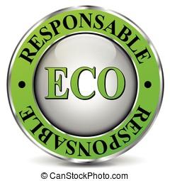 Eco-friendly icon