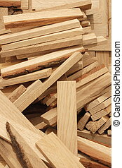 Sticks of wood
