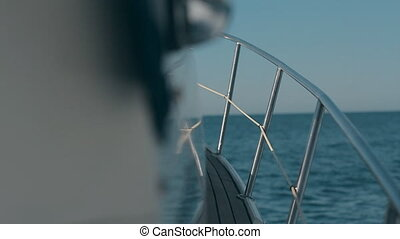 Yacht. Sailing. Yachting. Tourism. Luxury Lifestyle...