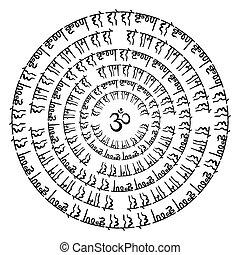 indianas, Mandala