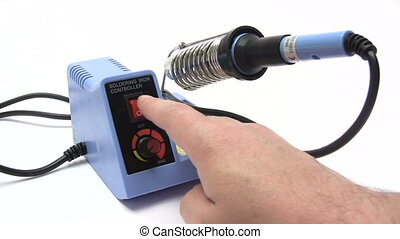 Soldering Iron - Canon HV30 HD 16:9 1920 x 1080 2500 fps...